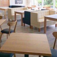 мебель для кафе из дерева